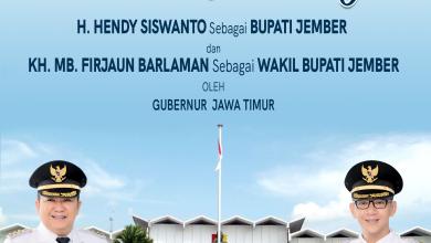 Photo of Bupati dan Wakil Bupati Jember 2021 – 2024  Resmi Dilantik Gubernur Khofifah